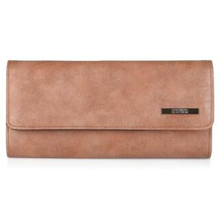 Kenneth Cole Reaction Women's Faux Leather Elongated Clutch Wallet