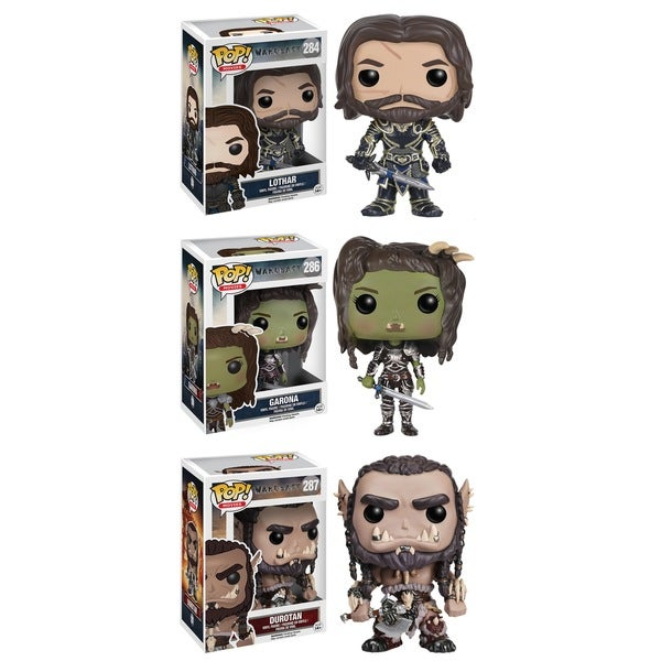 Funko Warcraft POP! Movies Collectors Set 18740537