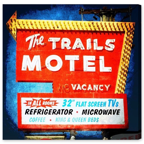 Canyon Gallery 'The Trails Motel' Canvas Art