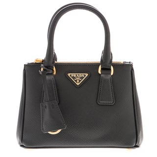 Prada Galleria Black Saffiano Leather Mini-Bag