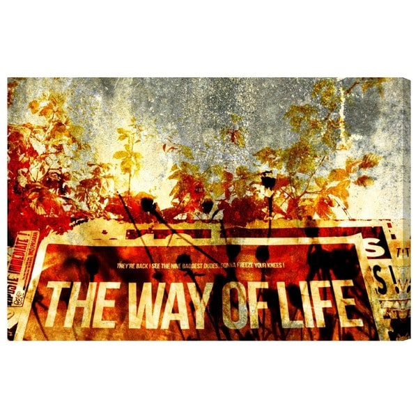 Canyon Gallery 'The Way of Life' Canvas Art