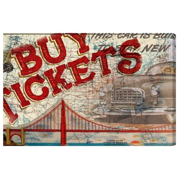 Canyon Gallery 'Buy Tickets' Canvas Art