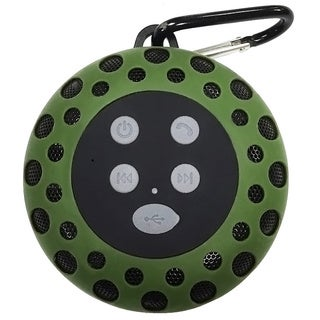 Teledynamics LLP Cobra Digital BT2000 Black, Blue, Green or Red Bluetooth Speaker with Clip