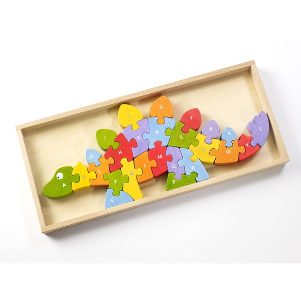 Begin Again Toys Wooden Dinosaur A-Z Puzzle 18742189