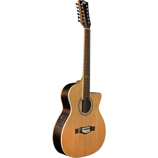 Eko Guitars 06217072 MIA Series 12-string Auditorium Cutaway Acoustic-electric Guitar