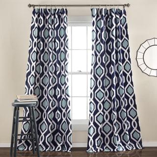 Lush Decor Iron Gate Window Curtain Panel Pair