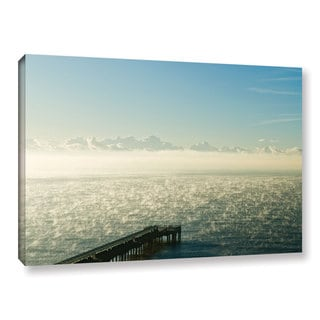 Andrew Lever's 'Fog on the Ocean' Gallery Wrapped Canvas
