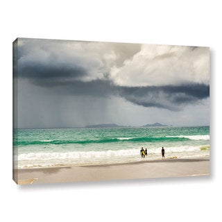 Andrew Lever's 'Surf the Storm' Gallery Wrapped Canvas