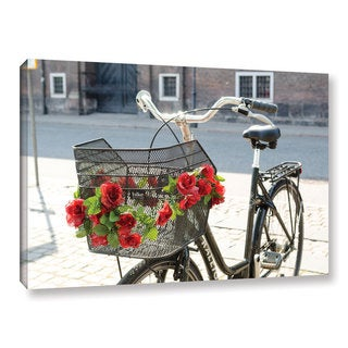 Andrew Lever's 'Bike Attitude' Gallery Wrapped Canvas