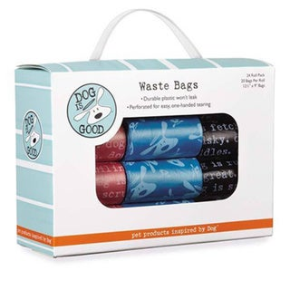 Dog Is Good Assorted Pet Waste Disposal Bags