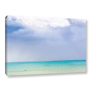 Andrew Lever's 'Blue Seascape' Gallery Wrapped Canvas