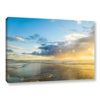 Andrew Lever's 'Calmness' Gallery Wrapped Canvas