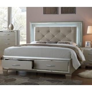 Glamour Queen Storage Bed