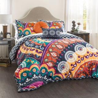 Lush Decor Maya Quilted 5-piece Comforter Set