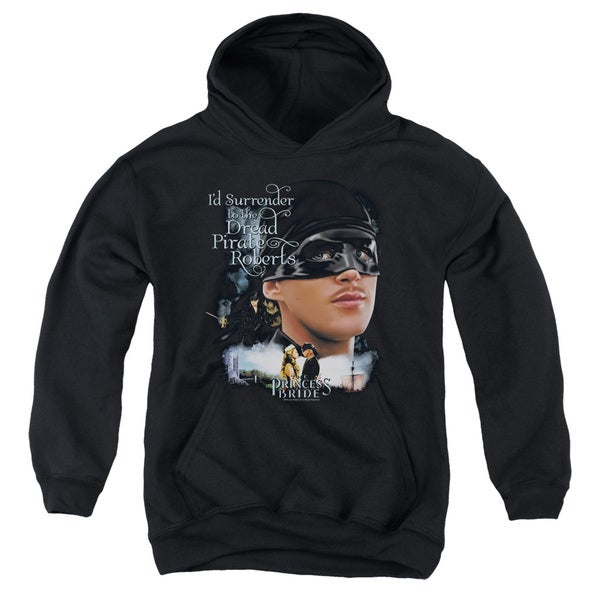 Pb/Surrender Youth Pull-Over Hoodie in Black