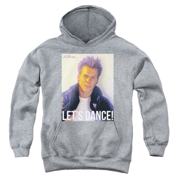 Footloose/Lets Dance Youth Pull-Over Hoodie in Heather