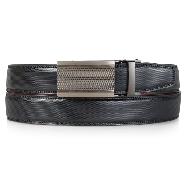 Vance Co. Mens Soft Genuine Leather Adjustable Ratchet Belt
