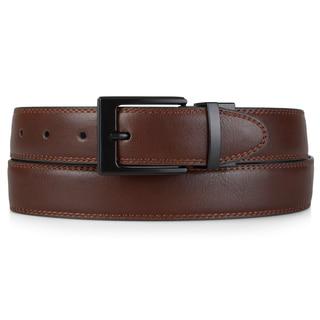 Steve Madden Men's Genuine Leather Reversible Belt