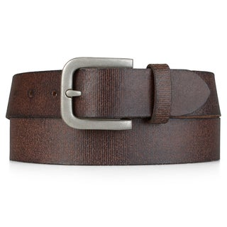 Timberland Men's Genuine Leather Distressed Belt
