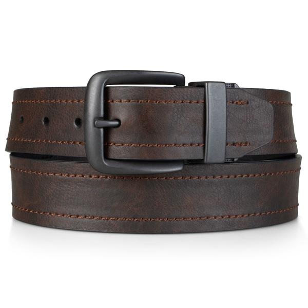 Dickies Men's Genuine Leather Reversible Belt