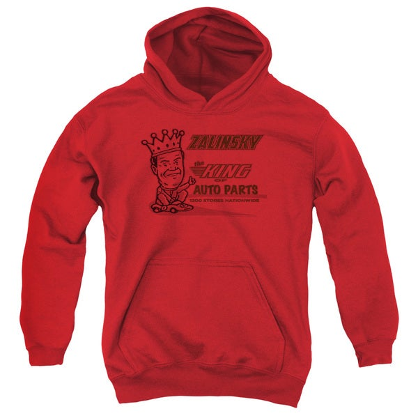 Tommy Boy/Zalinsky Auto Youth Pull-Over Hoodie in Red