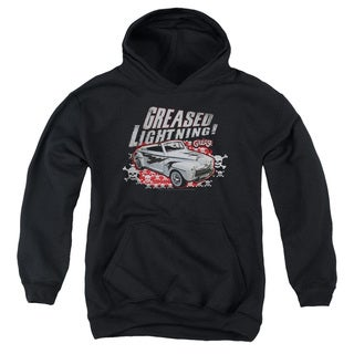 Grease/Greased Lightening Youth Pull-Over Hoodie in Black