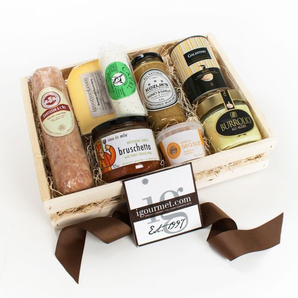 igourmet Garlic Lovers Gift Crate