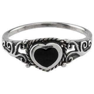 Haven Park Sterling Silver Claddagh Heart Ring