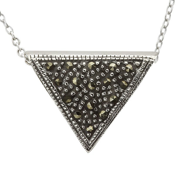 Haven Park Triangle Pendant Necklace