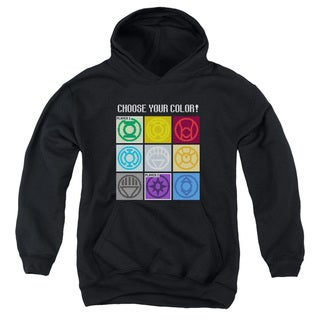 DC/Choose Your Color Youth Pull-Over Hoodie in Black