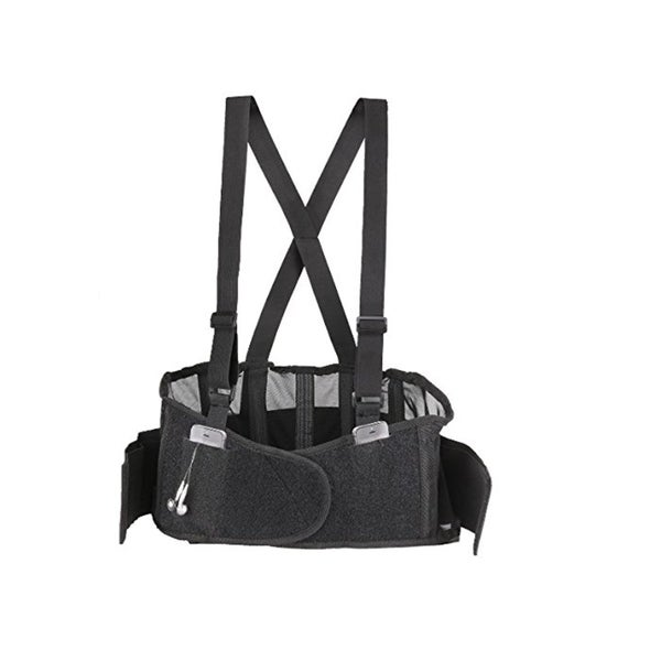 Lumbar Support Back Brace with Pockets