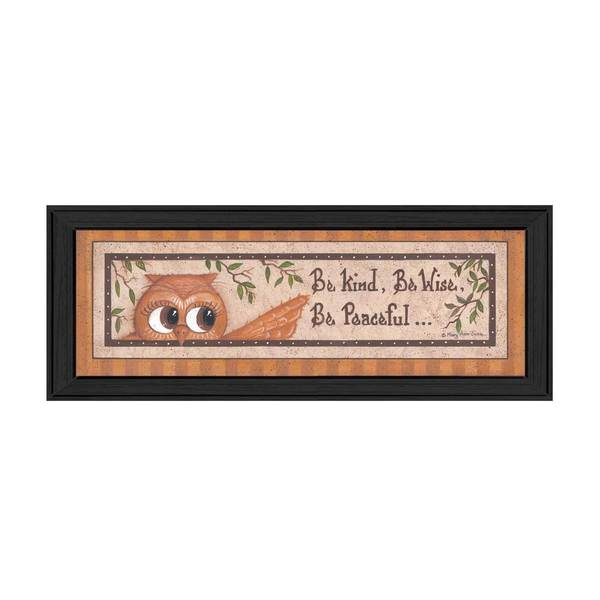 6-inch long Wise Owl Framed Art