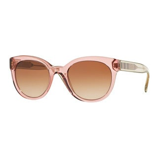 Burberry Women's BE4210 356513 Pink Plastic Phantos Sunglasses