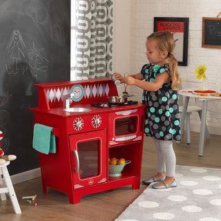 KidKraft Red Classic Kitchenette