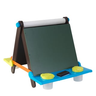 KidKraft Arts and Crafts Multicolored Wooden Tabletop Easel
