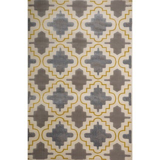 Christopher Knight Home Vita Faith Geometric Pearl Rug (5' x 8')