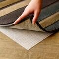 Synthetic Fiber White Non-slip Rectangular Rug Grip Pad (4' x 7')