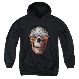 Anne Stokes/Hellfire Youth Pull-Over Hoodie in Black