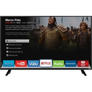 "VIZIO D D40u-D1 40"" 2160p LED-LCD TV - 16:9 - Black"