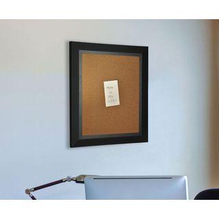 American Made Rayne Attractive Matte Black Corkboard