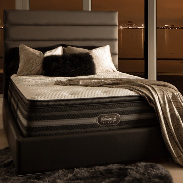 Simmons Beautyrest Black Katarina Plush Pillow Top Queen-size Mattress Set