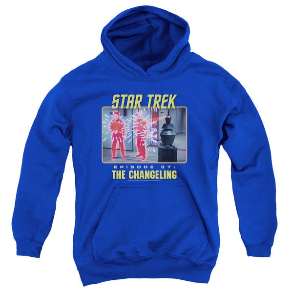 St Original/The Changeling Youth Pull-Over Hoodie in Royal