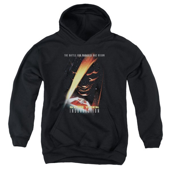 Star Trek/Insurrection(Movie) Youth Pull-Over Hoodie in Black