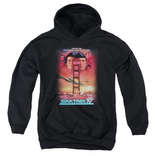 Star Trek/The Voyage Home(Movie) Youth Pull-Over Hoodie in Black