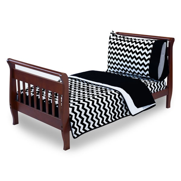 Chevron Toddler Bedding Set