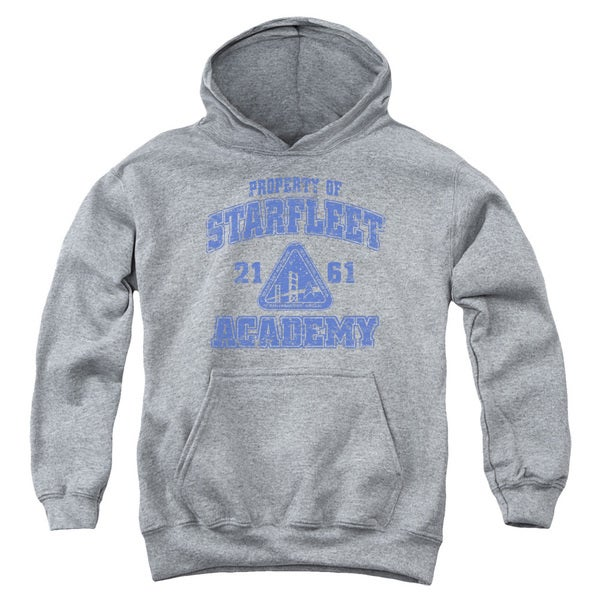 Star Trek/Old School Youth Pull-Over Hoodie in Heather