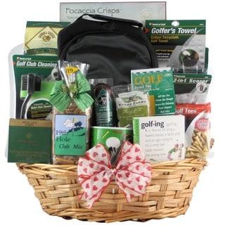 Deluxe Golfer Valentine's Day Golf Gift Basket