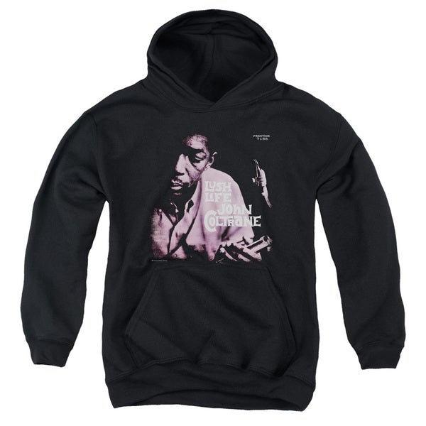 Concord Music/Lush Life Youth Pull-Over Hoodie in Black