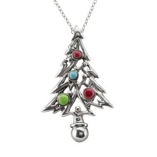 Haven Park Christmas Tree Pendant Necklace