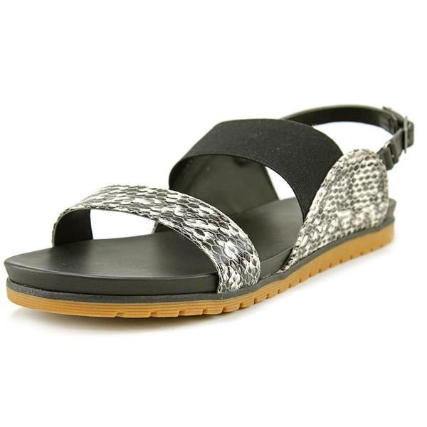 Mia Women's Compete White Synthetic Sling Back Sandals